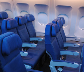 Paxnouvelles air transat pr sente la nouvelle cabine de for Interieur avion air canada