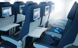 Paxnouvelles air transat d voile sa nouvelle cabine for Avion air transat interieur