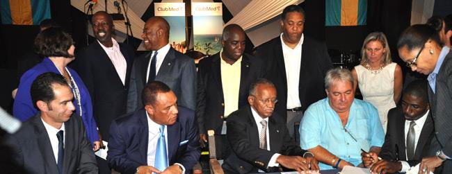 Paxnouvelles le gouvernement des bahamas au club med - Chef de cabinet du premier ministre ...