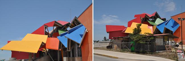 Le musée de la Biodiversité, œuvre de Frank Gehry